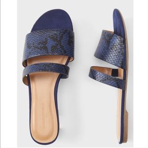 Banana Republic Double strap sandals